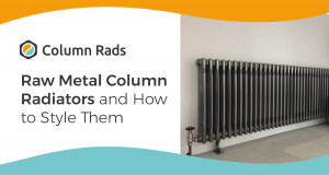 Raw Metal Column Radiators and How to Style Them