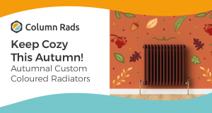 Keep Cozy with our Autumnal Custom Coloured Radiator Collection