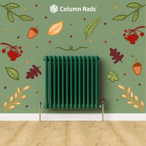 Turquoise Green Custom Coloured Radiator -Autumn