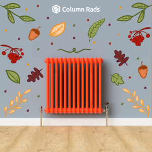 Traffic Orange Custom Coloured Radiator - Autumn