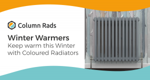 Keep warm this Winter with Coloured Radiators