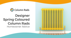 Designer Spring Coloured Column Rads