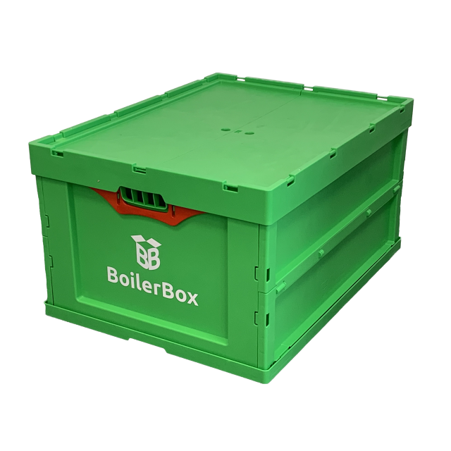 BoilerBox side view - Mr Central Heating