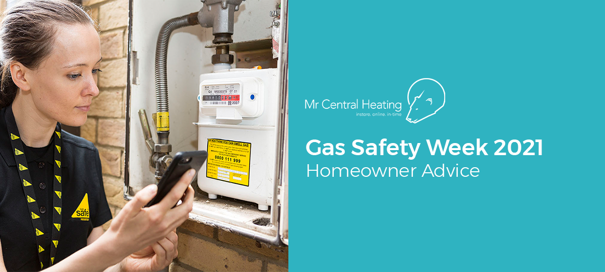 Gas Safety Week2021 - 13th to 17th September