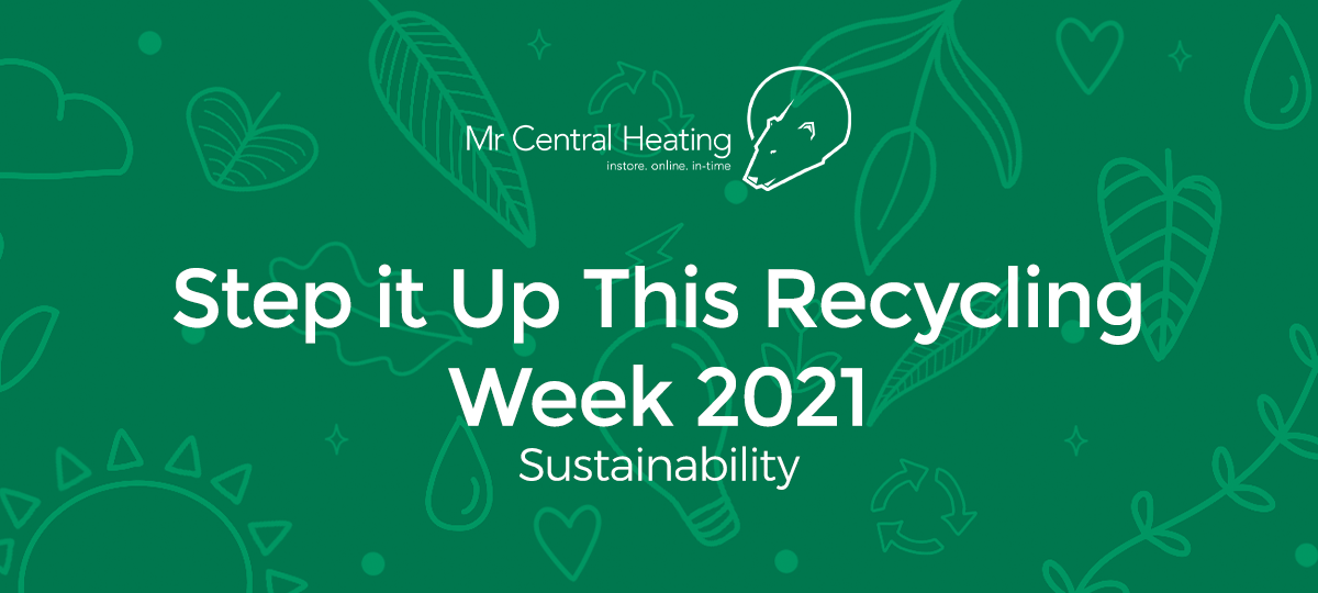 Step it Up This Recycling Week 2021