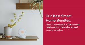 Nest Thermostat E - The market leading smart home boiler and control bundle